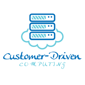 Customer-Driven Computing Cloud Server Icon